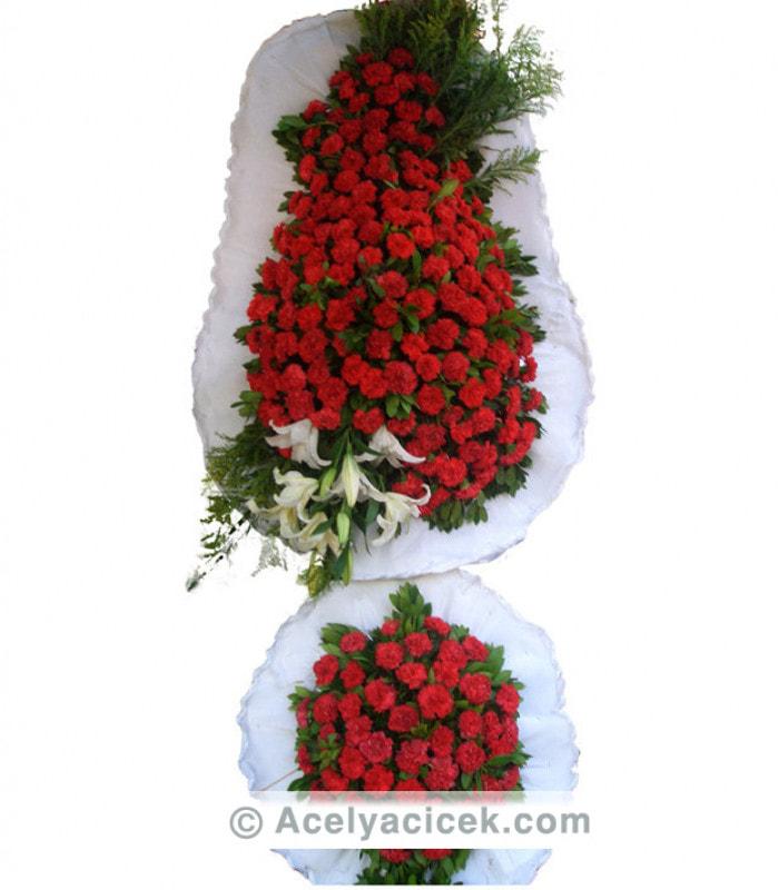 Çift Göbekli Kırmızı Ayaklı Sepet