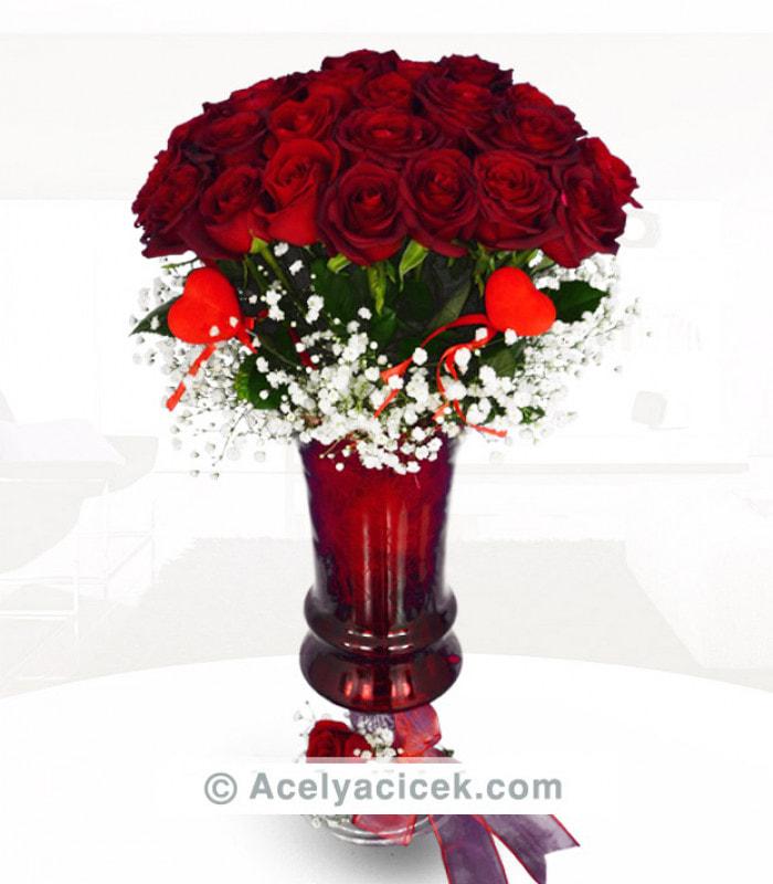 İddialı Kırmızı Güller